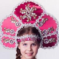 Купить Кокошники | ручная работа | русские национальные костюмы | Балаган, производство и продажа карнавальных костюмов