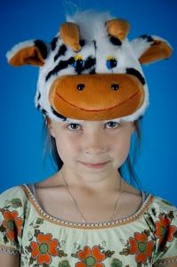 Шапочка коровы