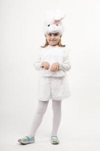 Зайчик белый