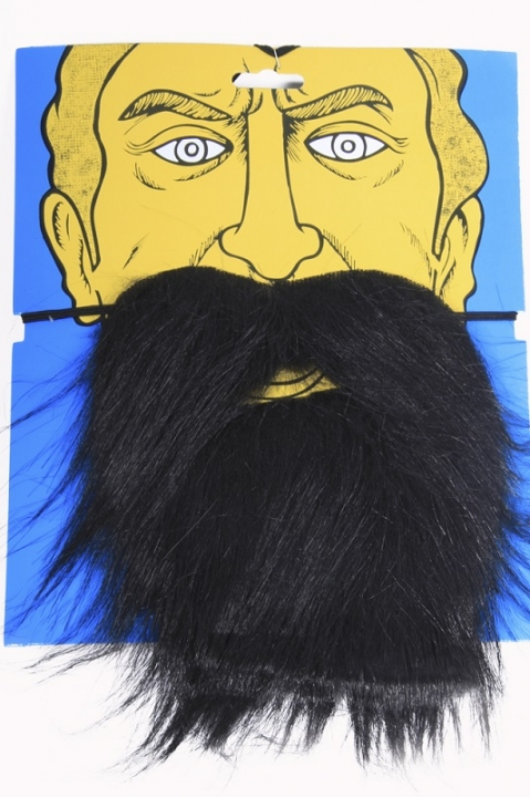 Набор усы и борода (черные)