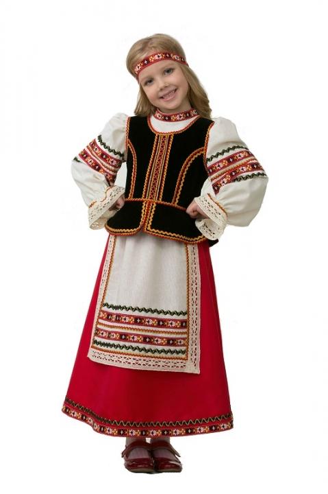 Славянский костюм для девочки