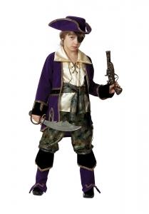 Капитан пиратов лиловый