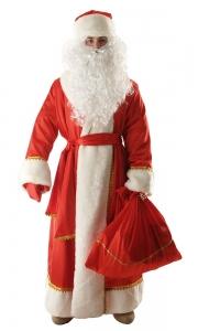 Дед мороз креп-сатин(красный)
