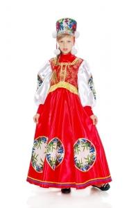 Боярский костюм для девочки