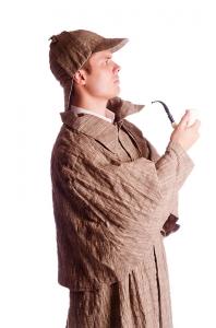 Костюм Шерлока Холмса мужской