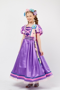 Костюм Принцесса «Рапунцель» для девочки