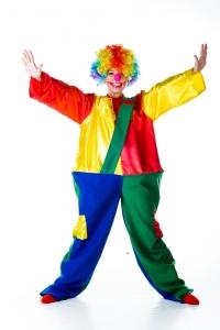 Клоун на каркасе