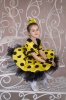 Костюм Стиляга в желтом для девочки