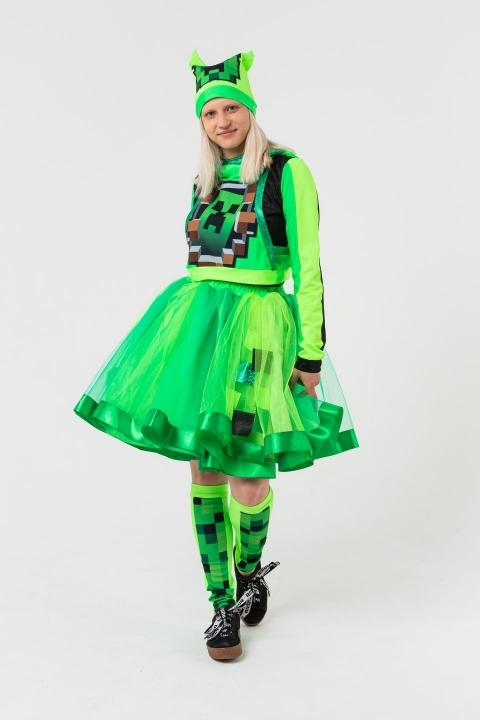 Крипер Девочка в юбке