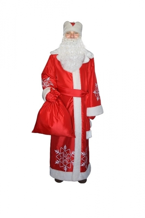 Костюм Деда Мороза взрослый