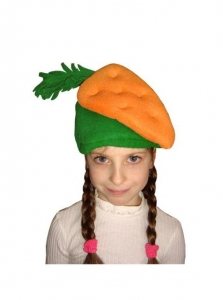 Шапочка Морковка