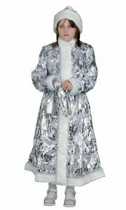 Снегурочка длинная приталенная пан-бархат