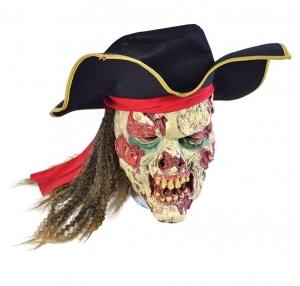 Маска Пирата - Зомби в шляпе