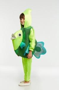 Рыбка зеленая