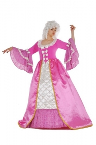 Костюм в стиле барокко розовый